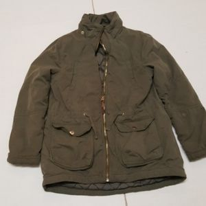 H & M Boys Military Style Green Jacket